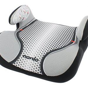 Osann-Kinderautositz-Autositzerhhung-Booster-Topo-Luxe-Pop-Black-schwarz-grau-15-bis-36-kg-ECE-Gruppe-2-3-von-ca-3-bis-12-Jahre-mit-integrierter-Gurtfhrung-0