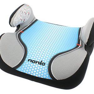 Osann-Kinderautositz-Autositzerhhung-Booster-Topo-Luxe-Pop-Blue-blau-grau-15-bis-36-kg-ECE-Gruppe-2-3-von-ca-3-bis-12-Jahre-mit-integrierter-Gurtfhrung-0