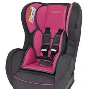 Osann-Kinderautositz-SafetyONE-Quilt-Framboise-pink-rosa-0-bis-18-kg-ECE-Gruppe-0-1-von-Geburt-bis-ca-4-Jahre-reboard-bis-10-kg-nutzbar-0