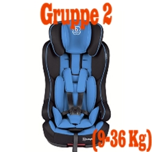 Kindersitz Gruppe 2 (9-36 Kg)