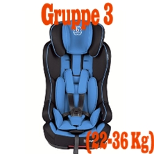 Kindersitz Gruppe 3 (22-36 Kg)